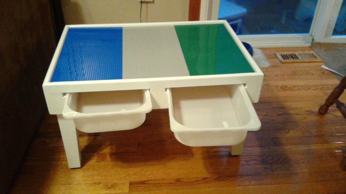 Table Lego Cheap Diy Folding Lego Table Easy And Homemade